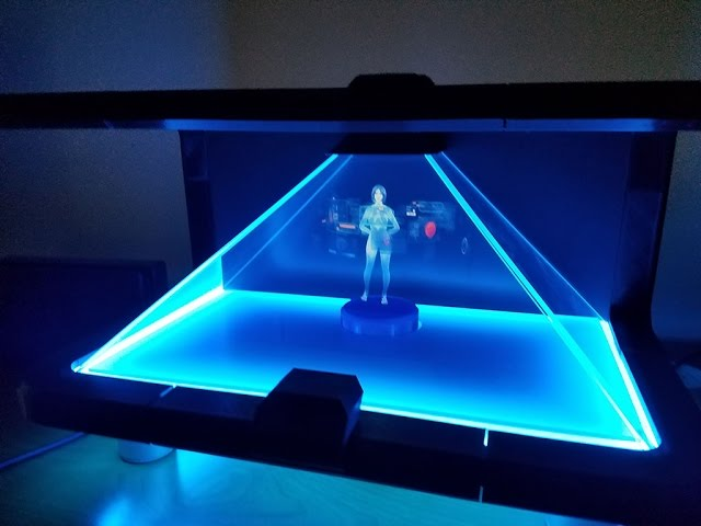 Diy Cortana Holographic Ai Assistant The Awesomer