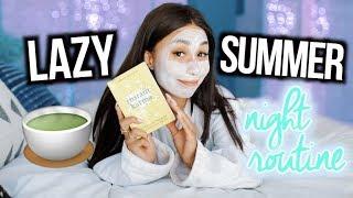 My Lazy Summer Night Routine! 2018! | MyLifeAsEva
