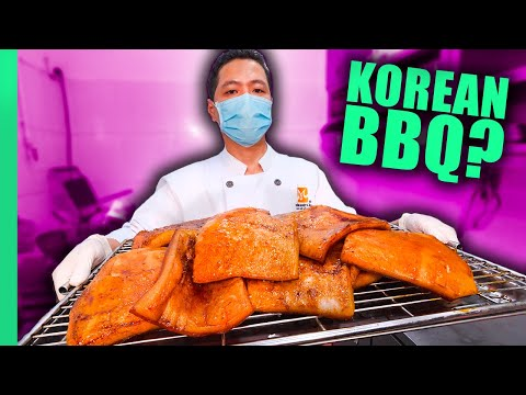 Korea's Bizarre Meat BBQ!! Eating ONLY Animal Skin for 24 Hours!!!