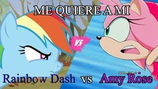 Me quiere ami - Amy vs Rainbow Dash [OFFICIAL]