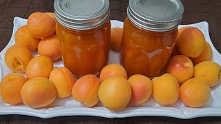 طريقة تحضير مربى المشمش اللذيذ بخظوات بسيطة Best Homemade Apricot Jam Recipe