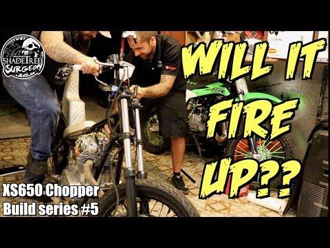 Yamaha XS 650 Chopper Bobber - смотреть онлайн на Hah Life