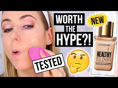 NEW CoverGirl FULL COVERAGE Foundation TESTED || First Impression Friday