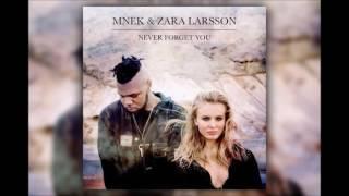 Zara Larsson, MNEK   Never Forget You 1 HOUR VERSION