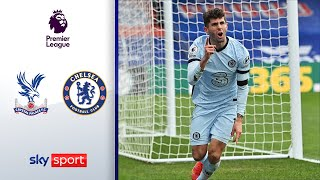 Havertz und Pulisic dominieren The Eagales | Crystal Palace - FC Chelsea 1:4 | Highlights - EPL