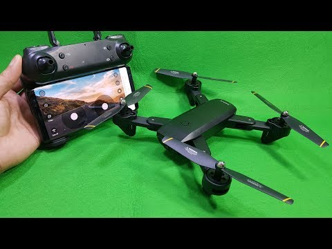 Test and Review SG700 Wifi FPV Drone – Dual Camera