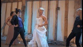 Best First Dance EVER - Dancer Bride Shocks Husband With Her Moves!