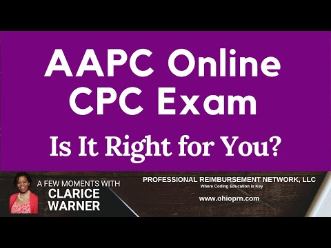 Is the New Online CPC Exam Right for You? - YouTube