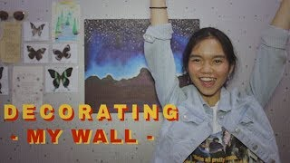 DECORATING MY WALL! Video thumbnail
