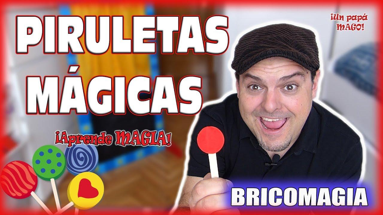 TRUCO DE MAGIA PIRULETAS MÁGICAS | APRENDE MAGIA | Is Family friendly