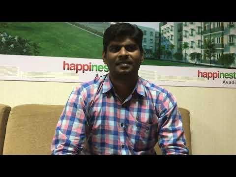 Mahindra Happinest Avadi - Mr. Charles Mizo's Testimony