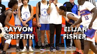 2023 Top Players #2 Elijah Fisher vs #9 Rayvon Griffith game almost comes to blows!! Orangemen Elite