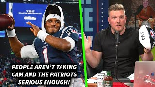 "Pat McAfee ""People Aren't Taking The Cam Newton Patriots Deal Seriously Enough"""