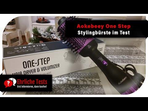 Aokebeey One-Step Föhnbürste | Hairstyler | Hairdryer | Stylingbürste im Test | Haare föhnen