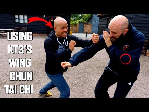 How to block a punch (Using Kt3's Wing Chun Tai Chi Self Defence) New Series