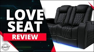 Home Theater Seating In Your Living Room? Valencia Tuscany Loveseat Review