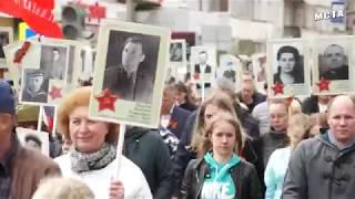 Бессмертный полк Боровичи Новгородская обл