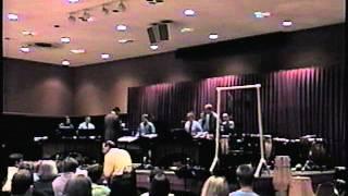 La Llorona - MSU Percussion Ensemble 2001 - Robert J. Damm, Director