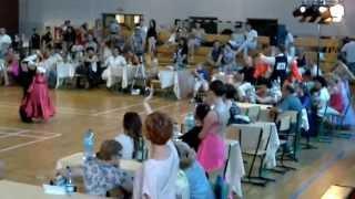 preview picture of video 'Kasia Kuryłowicz i Patryk Majewicz - zwycięski standard, Choroszcz 22.06.2013'