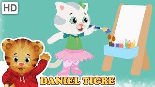 Daniel Tigre em Português 🎵 Temporada 1 Cantar Junto!   Vídeos para Crianças