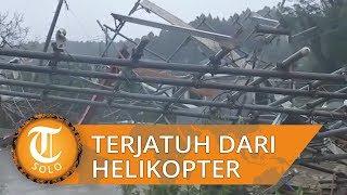 Perempuan Lansia Tewas Jatuh dari Helikopter saat Diselamatkan dari Topan Hagibis