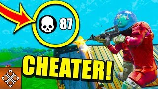 6 Fortnite Cheaters That GOT WHAT THEY DESERVE - dooclip.me