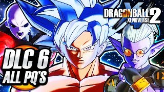Dragon Ball Xenoverse 2 (PS4) - DLC PACK 6 - All Parallel Quests Story & All New Characters Gameplay