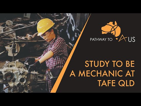 Study to become a mechanic at TAFE QLD