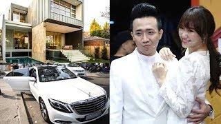 Choáng ngợp với khối tài sản khủng của vợ chồng Trấn Thành - Hari Won sau khi kết hôn