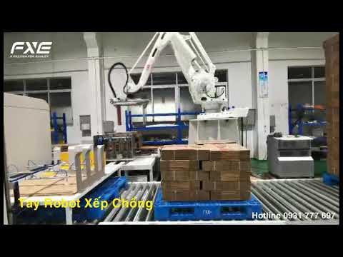 Hệ Thống Robot Xếp Chồng Tự Động