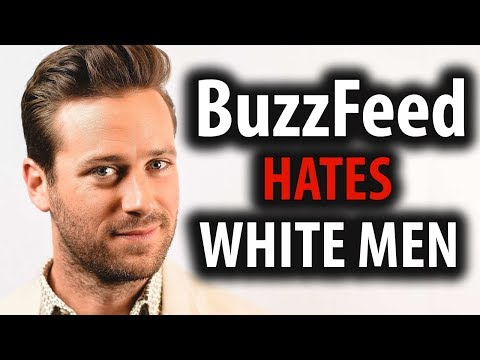 BuzzFeed Hates Straight White Males Like Armie Hammer