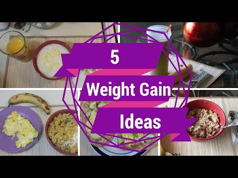 Video 5 Healthy Weight Gain Breakfast Ideas 1,000+ Cal ::SkinnyGotCurves::