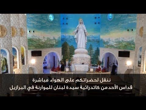 قداس الأحد من كاتدرائية سيدة لبنان للموارنة في البرازيل
