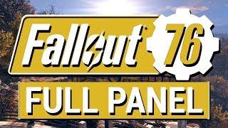 FALLOUT 76: Full Fallout 76 Q&A Panel!! (PvP, Perks, Levels, B.E.T.A and S.P.E.C.I.A.L.)