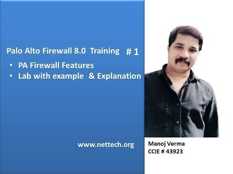 Palo Alto Firewall Training - YouTube
