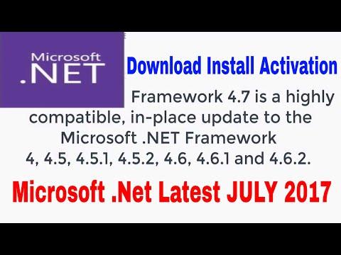 Microsoft .NET 4.7 Framework 2017 offline Windows 10 pro 10 , 8 , 8.1 , 7 Download Install