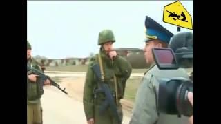 Российские военные открыли предупредительный огонь по украинским солдатам