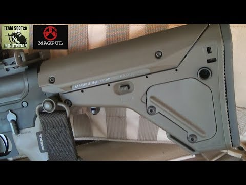 Magpuls Best Collapsible Stock The Ubr