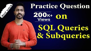 Lec-66: Find Nth(1st,2nd,3rd....N) Highest Salary in SQL | Imp for Competitive & Placement exam