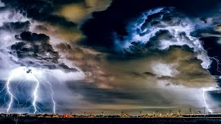 Rolling Thunderstorm BLACK SCREEN Rain Sounds Sleep ASMR Thunder Storm