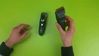 Panasonic ER-1611 vs. ER-GP80 & Panasonic ER-PA10 vs. ER-GP21 | German