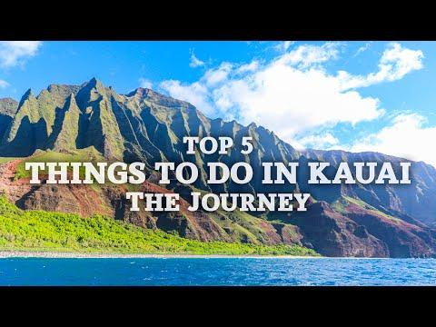 Top 5 Things to do in Kauai Hawaii