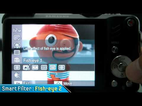 Samsung WB650 Filter Sample Video
