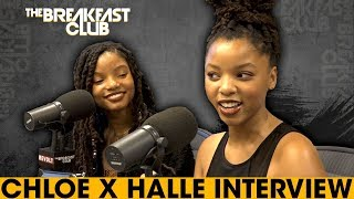The Breakfast Club - Chloe & Halle On Working & Getting Signed By Beyoncé, OTRII + Grownish