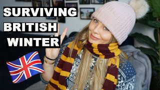 HOW TO: Survive the British Winter | First impressions of the London Winter | winter in the uk 2019