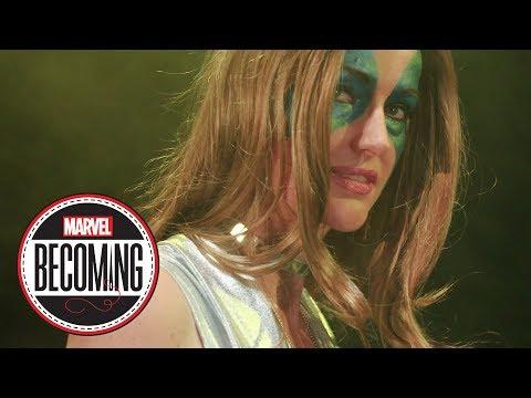 Cosplayer DJ Spider becomes Dazzler -- Marvel Becoming