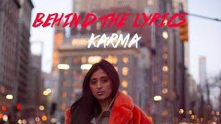 Raja Kumari - Karma - Behind the Lyrics - YouTube