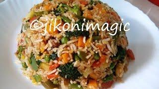 Vegetable Fried Rice   Jikoni Magic