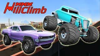 Игры уличные гонки крутая гонка на монстр трак MMX Hill Climb игры гонки на андроид