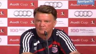 Louis van Gaal vs. Journalist